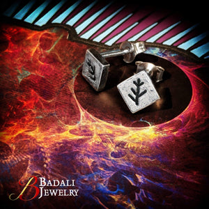 Elder Sign Studs - Badali Jewelry - Earrings