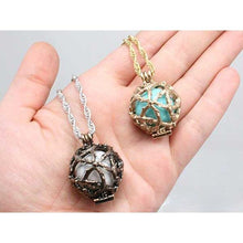 Load image into Gallery viewer, Elemental Sphere Locket - Badali Jewelry - Necklace
