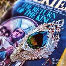 Load image into Gallery viewer, ELESSAR™ The Elfstone - White Bronze - Badali Jewelry - Necklace