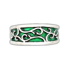 Load image into Gallery viewer, Elven Earth Band - Large/Gents - Badali Jewelry - Ring