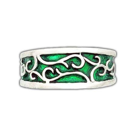 Elven Earth Band - Large/Gents - Badali Jewelry - Ring