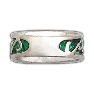 Elven Earth Band - Petite/Ladies - Badali Jewelry - Ring