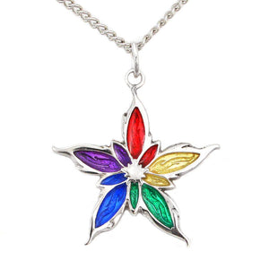 Enameled Nalthis Pendant - Sterling Silver - Badali Jewelry - Necklace
