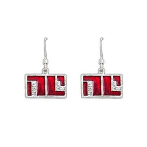 Enameled Non-Compliant Earrings - Badali Jewelry - Earrings