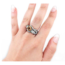 Load image into Gallery viewer, Engagement Ring of ARAGORN™ and ARWEN™ - Badali Jewelry - Ring