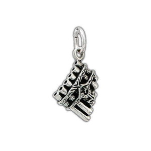 Eolian Talent Pipe Charm - Badali Jewelry - Charm