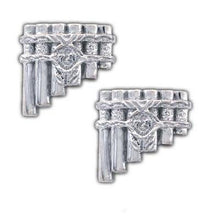 Load image into Gallery viewer, Eolian Talent Pipes Cufflinks - Badali Jewelry - Cufflinks