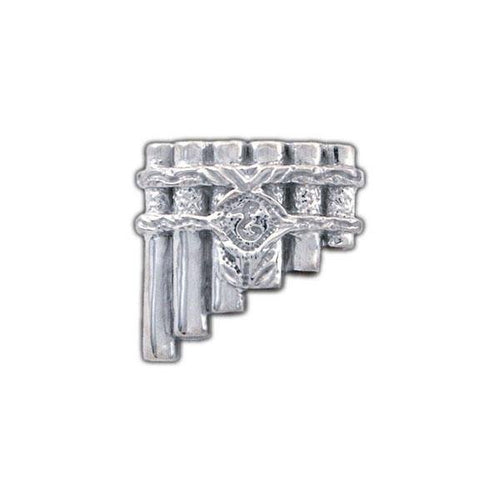 Eolian Talent Pipes Pin, Brooch Style - Badali Jewelry - Pin