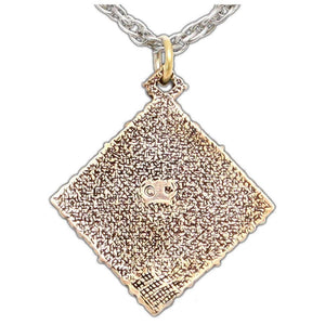 Feruchemy Tablet Medallion - Bronze - Badali Jewelry - Necklace
