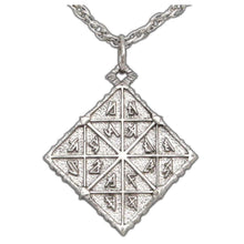 Load image into Gallery viewer, Feruchemy Tablet Medallion - Silver - Badali Jewelry - Necklace