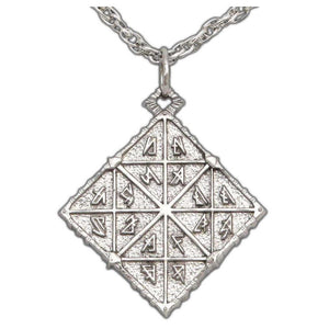 Feruchemy Tablet Medallion - Silver - Badali Jewelry - Necklace