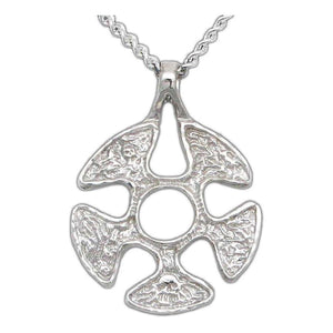 Flesh Faction Pendant - Silver - Badali Jewelry - Necklace
