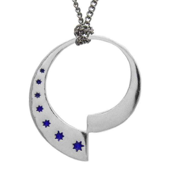 Fractalverse Medallion - Sterling Silver - Badali Jewelry - Necklace