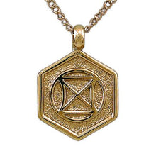 Load image into Gallery viewer, Gold Aon Daa Pendant - Badali Jewelry - Necklace