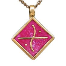 Load image into Gallery viewer, Gold Aon Edo Pendant - Badali Jewelry - Necklace
