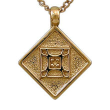 Load image into Gallery viewer, Gold Aon Mai Pendant - Badali Jewelry - Necklace