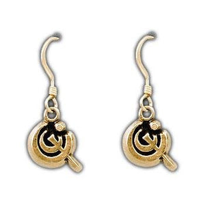 Gold Chromium Allomancer Earrings - Badali Jewelry - Earrings