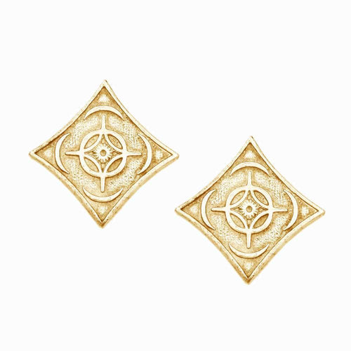 Gold Cosmere Cufflinks - Holiday Exclusive - LIMITED TIME ONLY - Badali Jewelry - Cufflinks