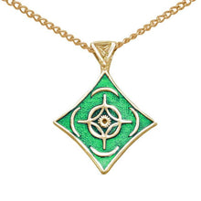 Load image into Gallery viewer, Gold Cosmere Pendant - Holiday Exclusive - LIMITED TIME ONLY - Badali Jewelry - Necklace
