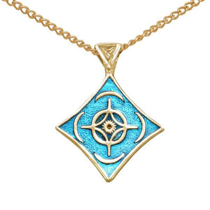 Gold Cosmere Pendant - Holiday Exclusive - LIMITED TIME ONLY - Badali Jewelry - Necklace