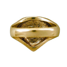 Load image into Gallery viewer, Gold Cthulhu Crest Ring - Badali Jewelry - Ring