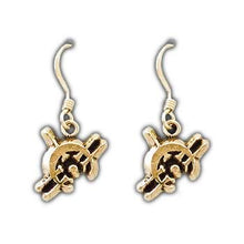 Load image into Gallery viewer, Gold Duralumin Allomancer Earrings - Badali Jewelry - Earrings