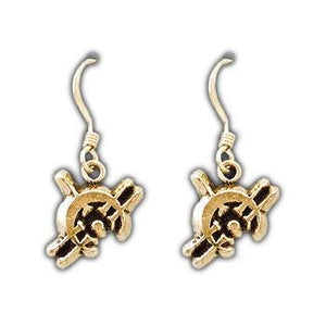 Gold Duralumin Allomancer Earrings - Badali Jewelry - Earrings