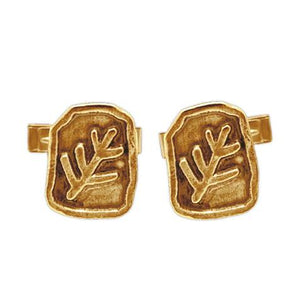 Gold Elder Sign Cufflinks - Badali Jewelry - Cufflinks