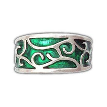 Load image into Gallery viewer, Gold Elven Earth Band - Petite/Ladies - Badali Jewelry - Ring