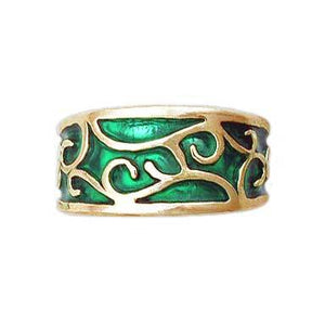 Gold Elven Earth Band - Petite/Ladies - Badali Jewelry - Ring