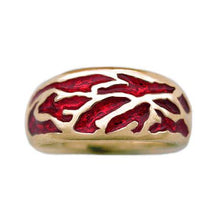 Load image into Gallery viewer, Gold Elven Flame Band - Petite/Ladies - Badali Jewelry - Ring