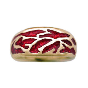 Gold Elven Flame Band - Petite/Ladies - Badali Jewelry - Ring