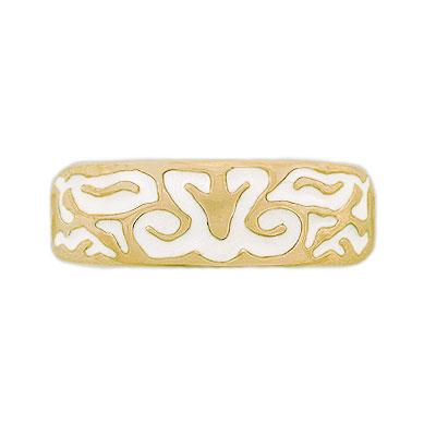 Gold Elven Spirit Band - Large/Gents - Badali Jewelry - Ring