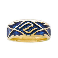 Load image into Gallery viewer, Gold Elven Water Band - Large/Gents - Badali Jewelry - Ring