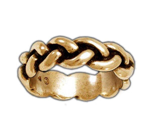 Gold Harry Dresden's Braided Force Ring - Badali Jewelry - Ring