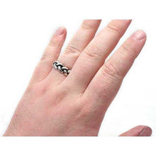 Load image into Gallery viewer, Gold Harry Dresden's Braided Force Ring - Badali Jewelry - Ring