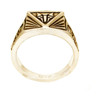 Gold Institute Ring for House Mars - Badali Jewelry - Ring
