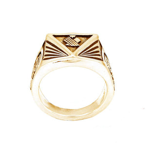 Gold Institute Ring for House Minerva - Badali Jewelry - Ring