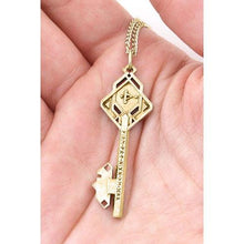 Load image into Gallery viewer, Gold Key of THROR - Badali Jewelry - Necklace