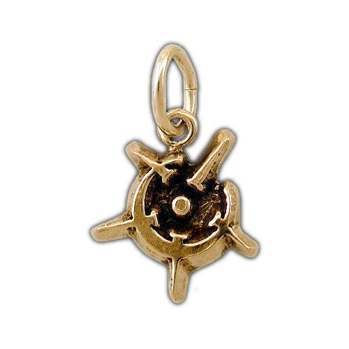 Gold Malatium Allomancer Charm - Badali Jewelry - Charm