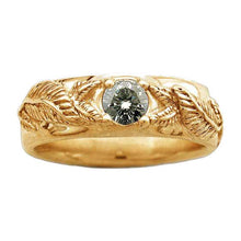 Load image into Gallery viewer, Gold NENYA™ - Gentlemen's MITHRIL™ - Badali Jewelry - Ring
