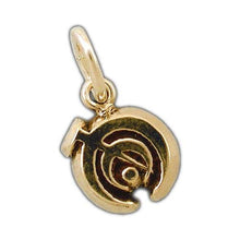Load image into Gallery viewer, Gold Nicrosil Allomancer Charm - Badali Jewelry - Charm