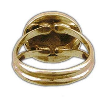 Load image into Gallery viewer, Gold Order of the Dragon Sigil Ring - Badali Jewelry - Ring