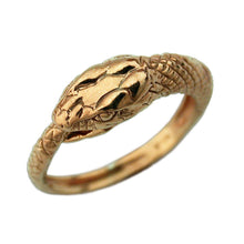 Load image into Gallery viewer, Gold Ouroboros Ring - Badali Jewelry - Ring