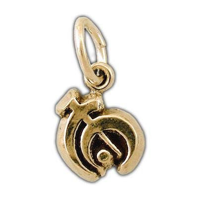 Gold Pewter Allomancer Charm - Badali Jewelry - Charm