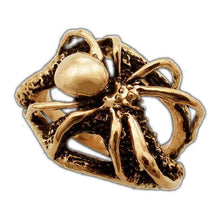 Load image into Gallery viewer, Gold SHELOB™ Ring - Badali Jewelry - Ring