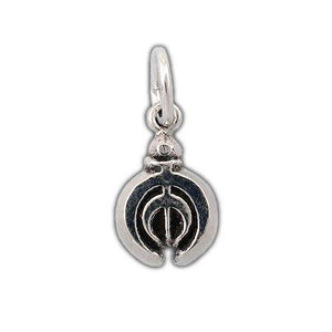 Gold Tin Allomancer Charm - Badali Jewelry - Charm