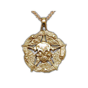 Gold Underworld United Medallion - Badali Jewelry - Necklace