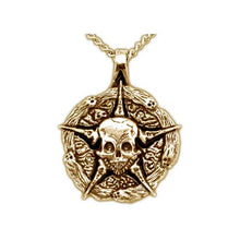Load image into Gallery viewer, Gold Underworld United Medallion - Badali Jewelry - Necklace