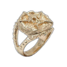 Load image into Gallery viewer, Gold Underworld United Signet Ring - Badali Jewelry - Ring